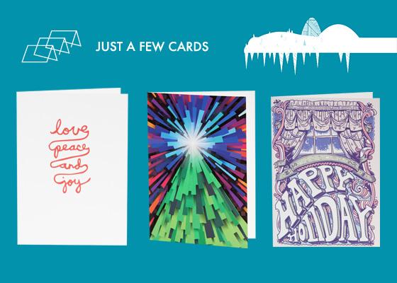 Дизайнерские открытки к Новому Году и Рождеству