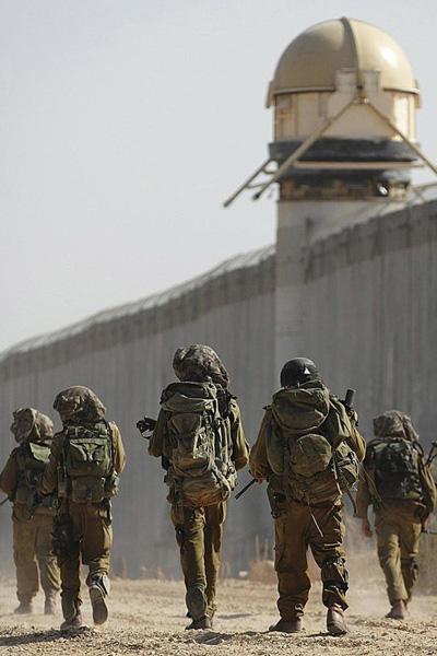 Израильская армия. Солдаты армии обороны Израиля